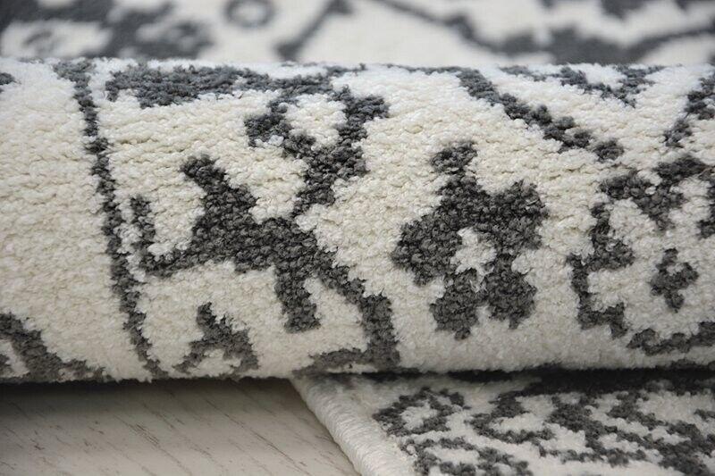 Amazing Teppiche Moderner Teppich' Teppich' Teppich' Sense' Klassisch Weiß Grau Best-Carpets 994425