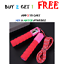 thumbnail 7 - Jump Rope Counter Adjustable For Kids Exercise Bearing Speed Skipping Fitness US