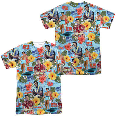 Authentic Elvis Presley Blue Hawaii Surf/'s Up Movie Sublimation Front T-shirt