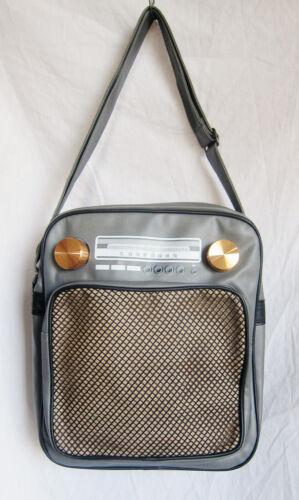 Vol Séjour Rétro Gym L D'une Vintage Nuit Radio messinger tout Fourre wF7z7qS