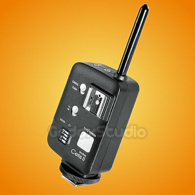 Godox Cells II 1/8000 433MHz Wireless HSS Flash Trigger Transceiver for Canon