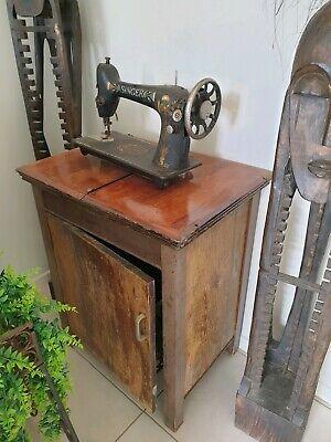Treadle machine restoration sewing singer Stagecoach Road