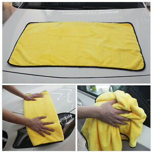 Household Supplies & Cleaning Thickness Car Wash Microfiber Towel Car Cleaning Drying Cloth Cleaning Towels & Cloths