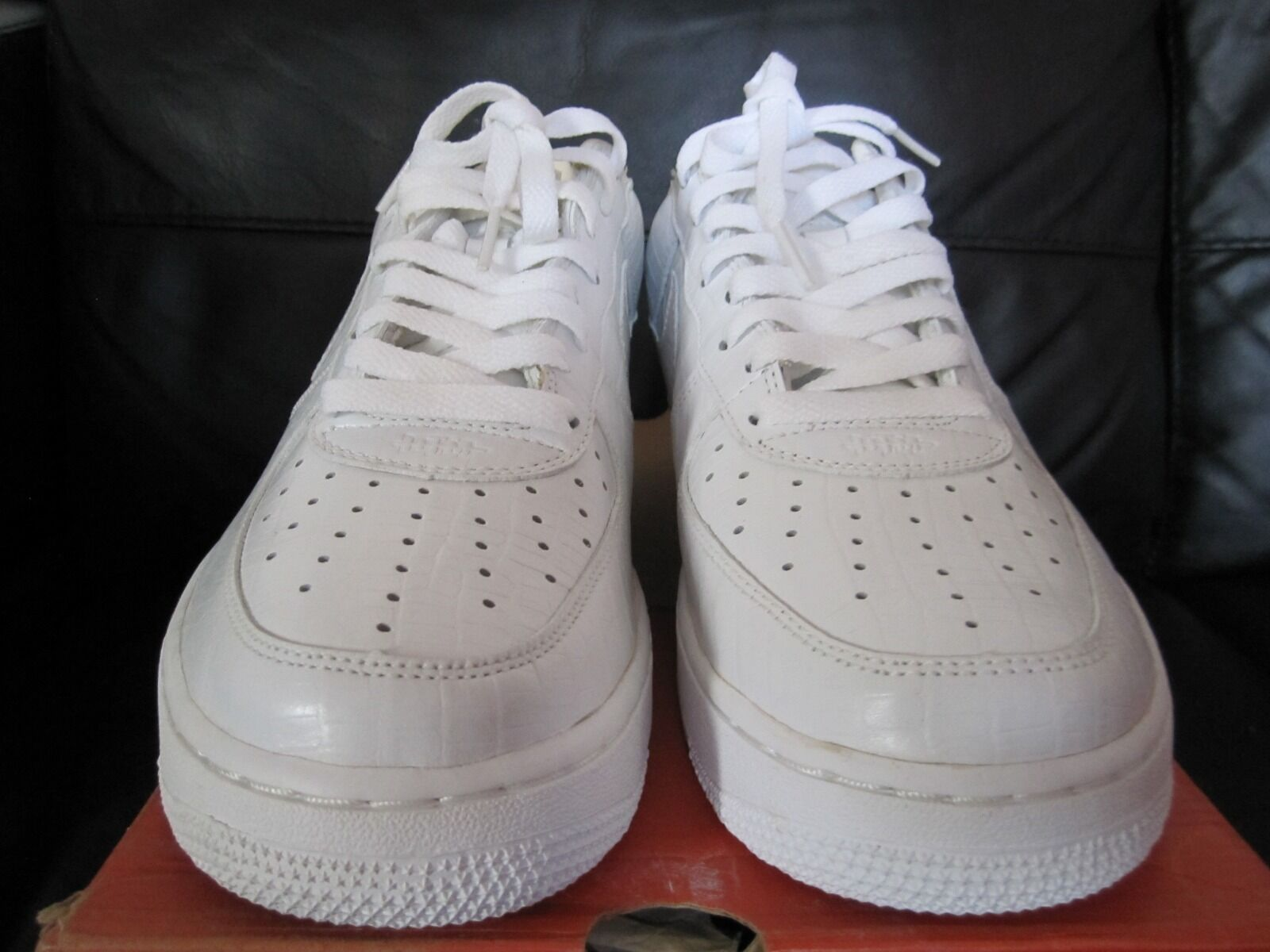Nike Air Force 1 Lo Premium H.T.M Croc Fragment blanc  Supreme