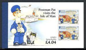 Isle-of-Man-Markenheftchen-kpl-MiNr-MH-0-11-postfrisch-MNH-Postman-Pat-C841