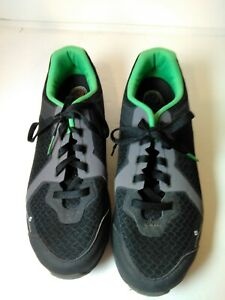 Men-s-Size-11-8-EU47-Shimano-SH-CT41L-Cycling-Shoes-Black-Grey-Green