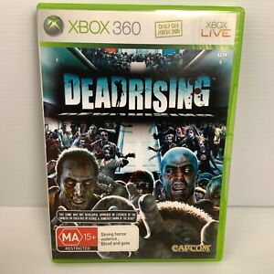 Dead Rising + Manual - Xbox 360 - Tested & Working! Free Postage!