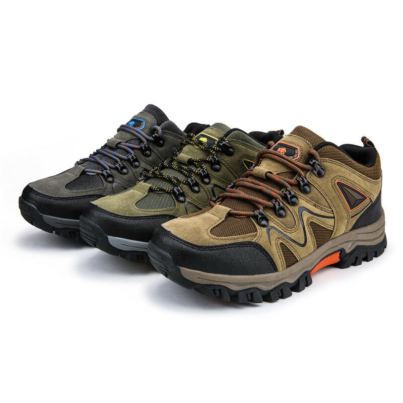 Men's Hiking shoes Outdoor Trail Trekking Sneakers Breathable Climbing shoes Ne1