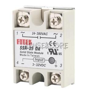 Ssr-25da-ssr-40da-ssr-60da-25a-40a-60a-250v-solid-state-relay-Alloy-Heat-sink
