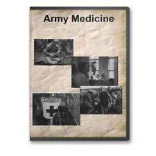 Army Medicine Historical Documentary WWI & WWII Footage DVD - A767