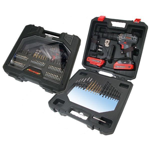 Neilsen 71 piece 18V LI-ION Cordless Drill 2 Batteries & 1 hour charger ct3822