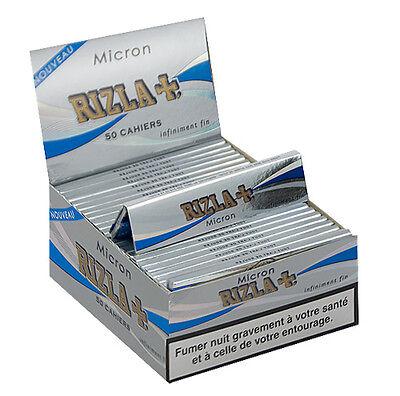 3 5 40 RIZLA MICRON KING SIZE Slim SMOKING PAPER 1 50 BOOKLETS 20 10