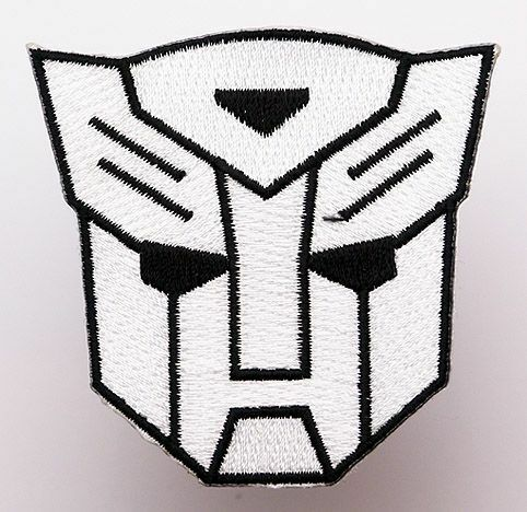 "TRANSFORMERS ""Transformer Logo"" - Embroidered Iron-On Patch- NEW"