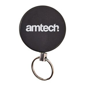 Retractable-Key-Chain-Holder-Split-Ring-Badge-Recoil-Belt-Clip-Pull-Chain-ID