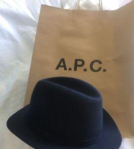 A.P.C Wool-Felt Fedora Hat RRP £300 limited edition Brand New  513fe3dcccf