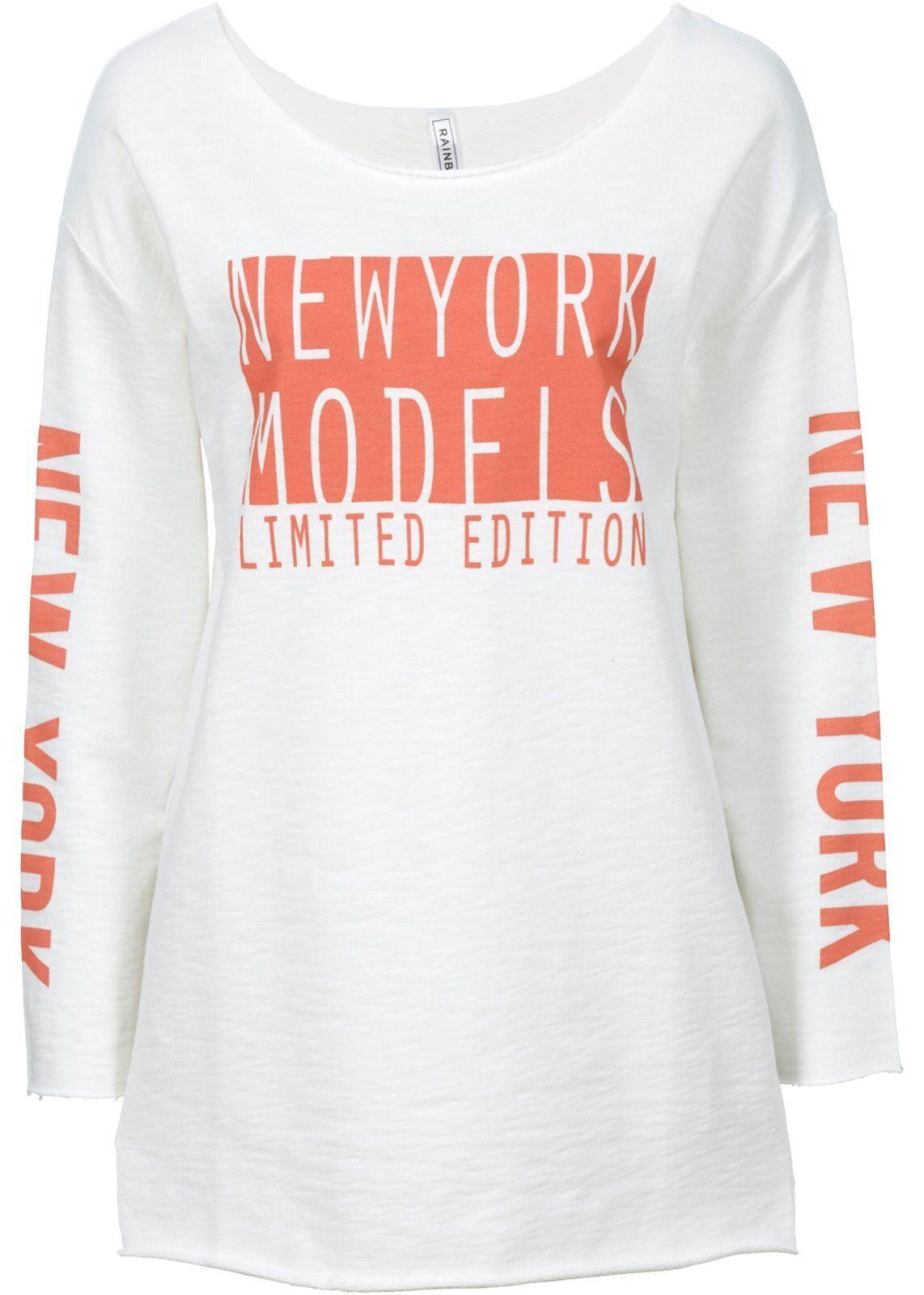 Stylishes Sweatshirt mit offenen Kanten Gr.32 NEU&OVP