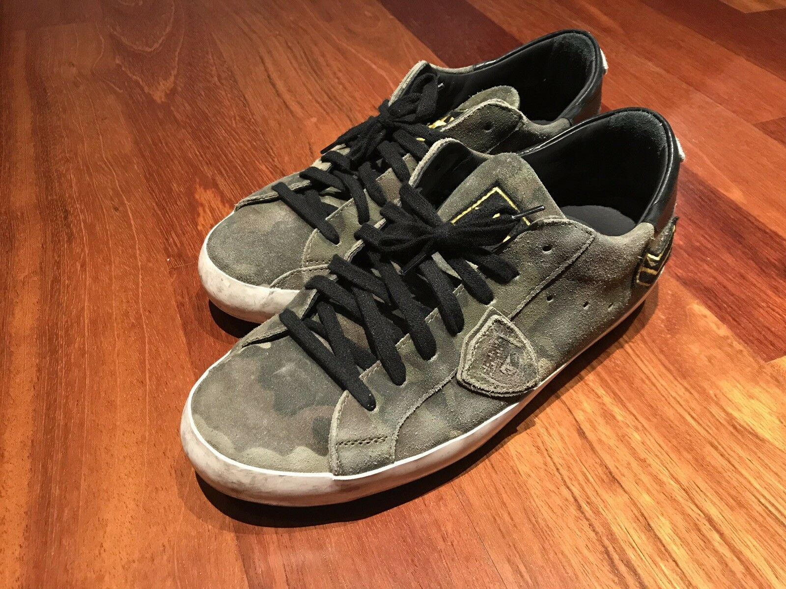 used Peace Army vintage camouflage 43 Turnschuhe Model