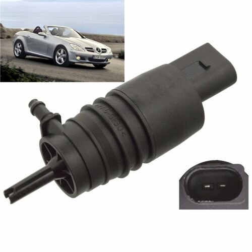 Front Windscreen Washer Pump Fits Mercedes SLK 2004 through to 2011 200 230 350