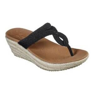 Skechers-Women-039-s-Beverlee-Villa-Feels-Thong-Sandal