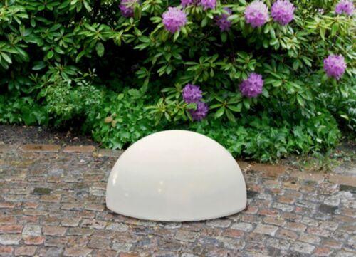 DEL Solaire Hémisphère leuchthalbkugel Boule Lumineuse Sphère Luminaire Lampe de jardin ø20cm