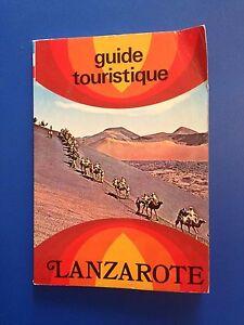 Cartina Lanzarote.D25 Guida Turistica Cartina Lanzarote 1980 In Francese Ebay
