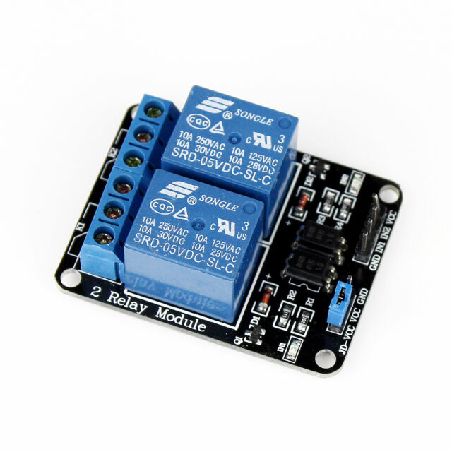 2 Channel 5V Relay Shield Module For Arduino UNO 2560 1280 ARM PIC AVR STM32
