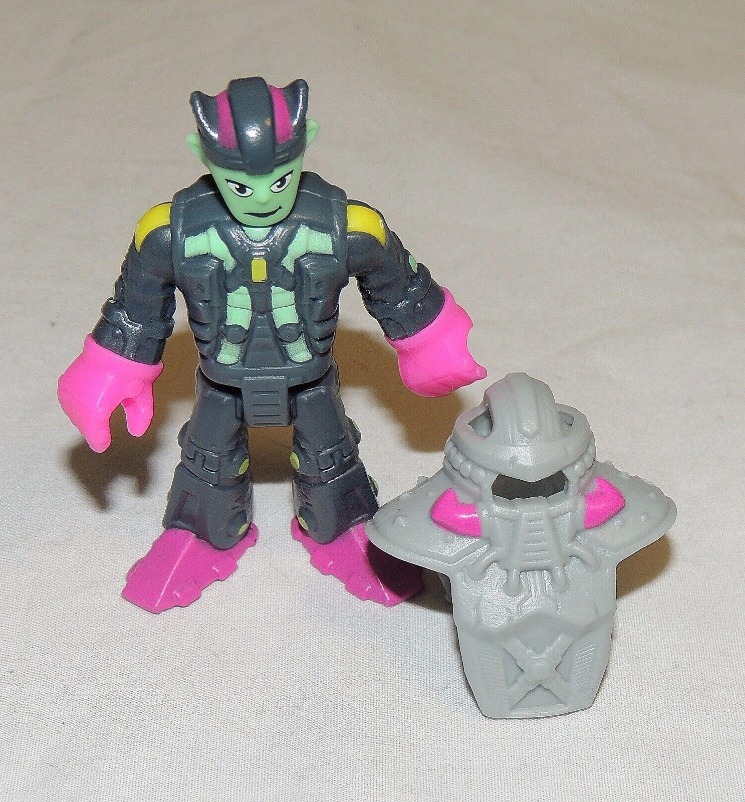 New Imaginext Blind Bag Series 7 Alien Half Robot Space Martian Green