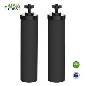 Fits Berkey Black Water Filters Purification Element BB9-2 Cartridge AQUACREST