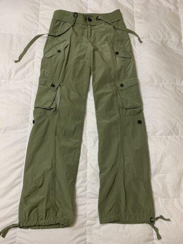 Armani Exchange A/X Women Cargo Military Pants Jea
