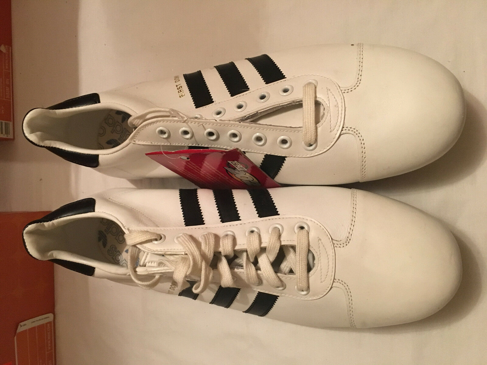 Adidas Fist Down 7967 Men's Football Soocer Cleats White/Black size 13 Brand discount