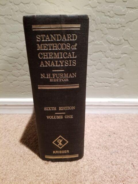 Vintage Standard Methods of Chemical Analysis, 6th Ed. Vol. 1, N.H. Furman