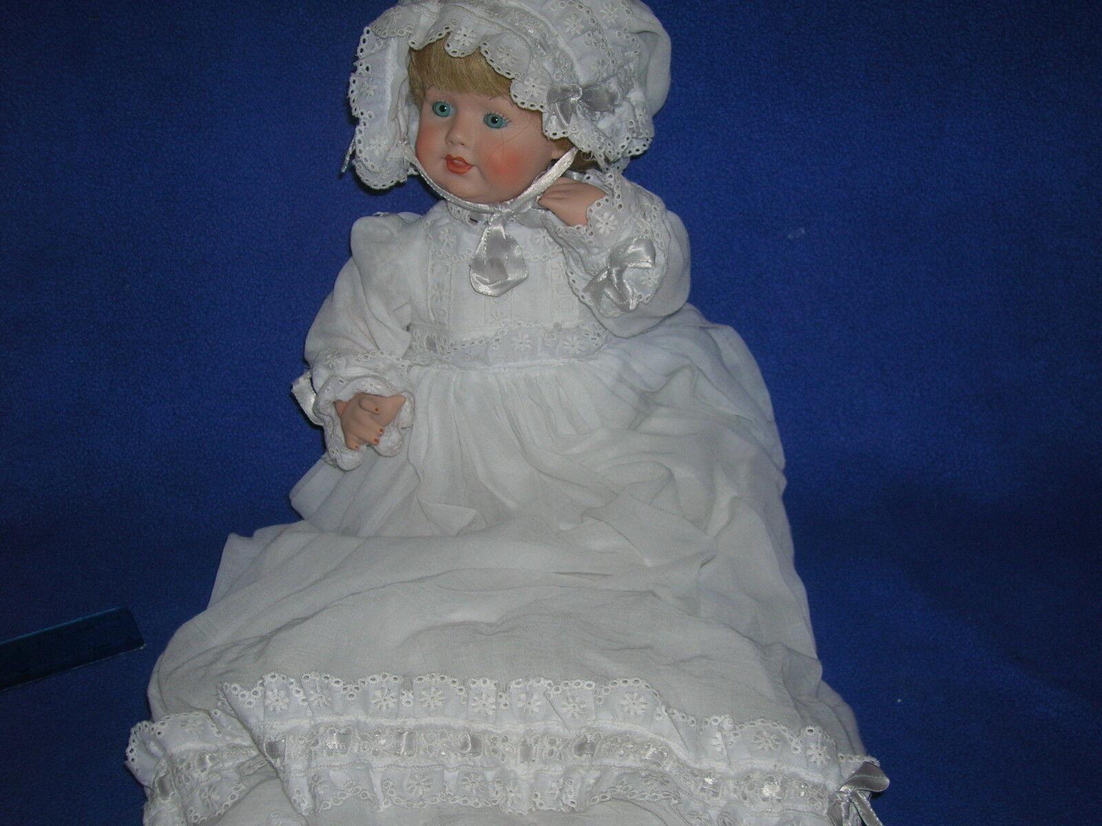 Kenneth Shader porcelain doll - MELISSA  US26 - 12  w COA;  1982
