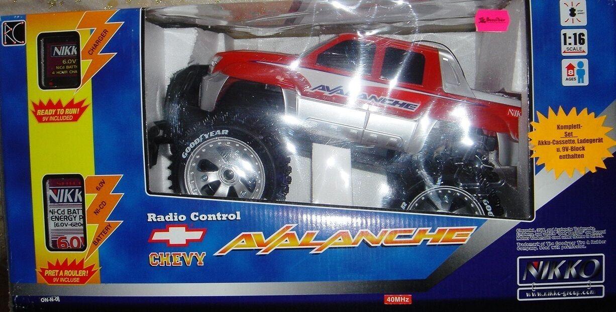 Nicco Avalanche-RC Chevy-nuevo-control remoto auto todo terreno-auto de forma remota