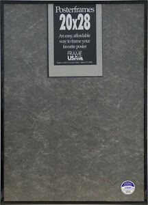 20x28 Poster Frame Pack Of 6 Black Silver Gold Clear Ebay