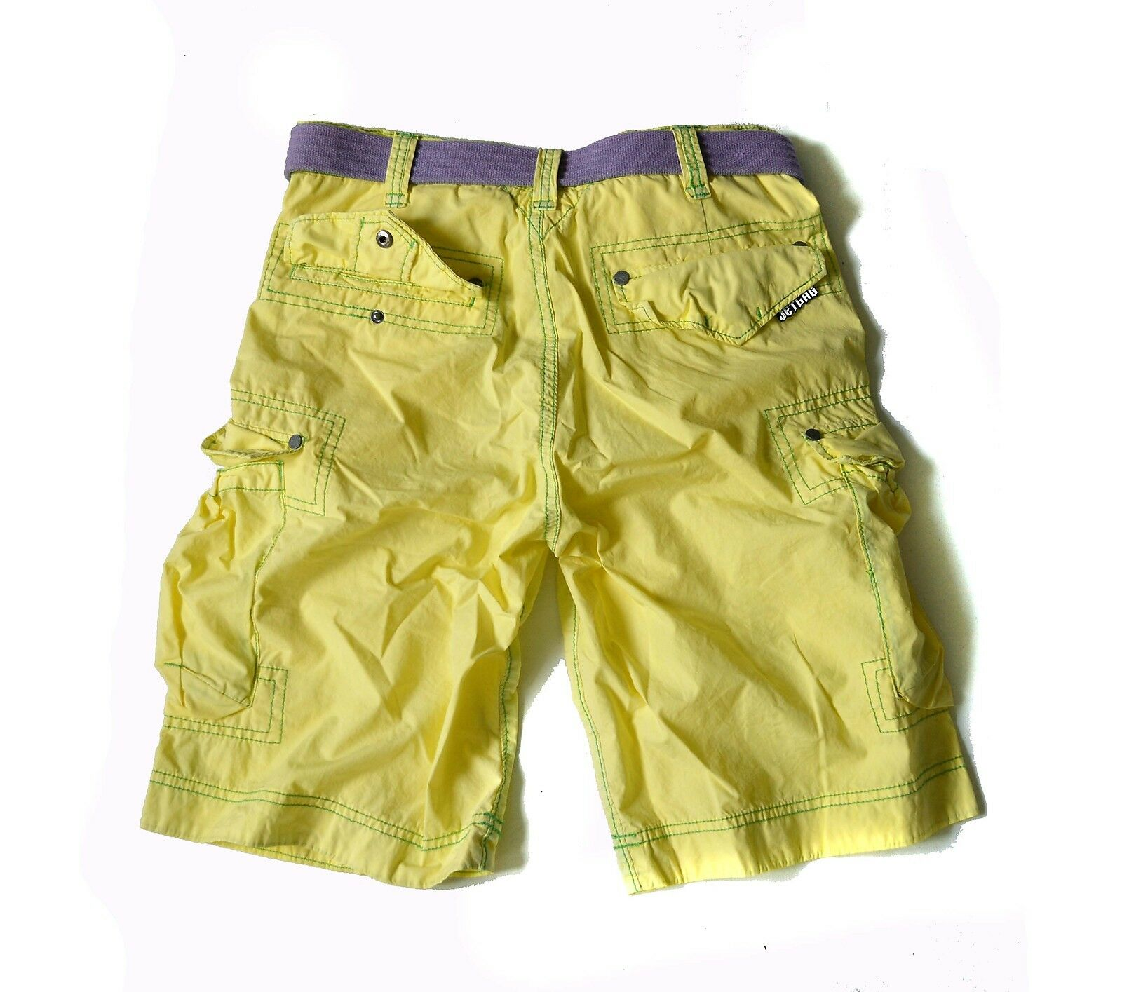 JETLAG Shorts  Acapulco banana banana banana Jet Lag Cargo Short Pants + lila Belt Neu Gr.33 fd4d99