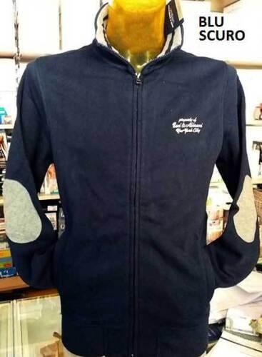 BaciAbbracci Herensweater en op Art met geborduurd logo ellebogen patches Y76ygbf