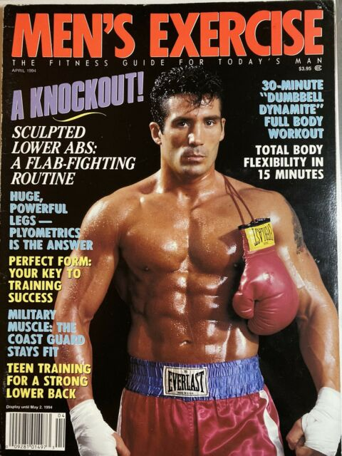 Exercise For Men Only magazine- april 2000 - vol.16 -issue