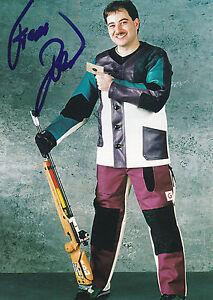 Frank-Dobler-Deutschland-Gold-WM-1989-Schiessen-Original-Autogramm