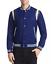 1650-Paul-Smith-Men-039-S-Blue-Stripe-Trim-Button-Front-Varsity-Jacket-Coat-Size-S thumbnail 1