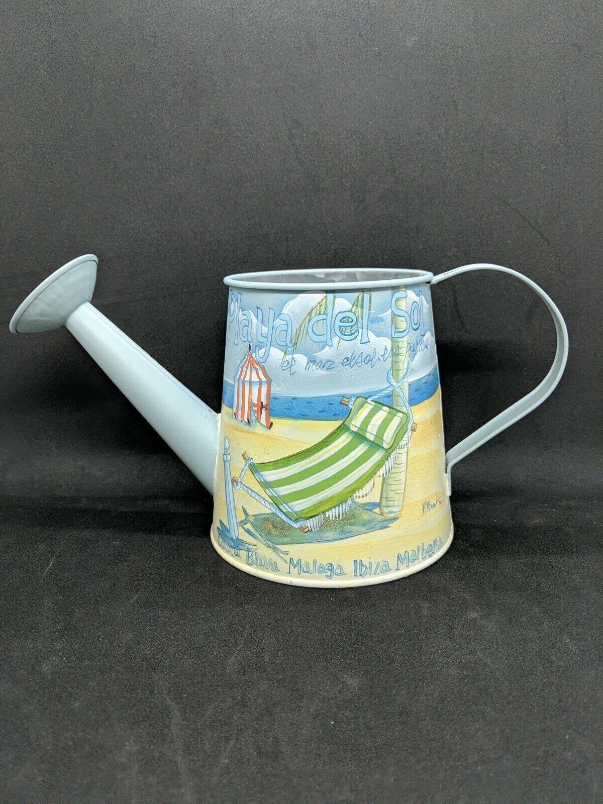 Small Metal Water Spraying Pot Garden Flower Kettle Watering Can