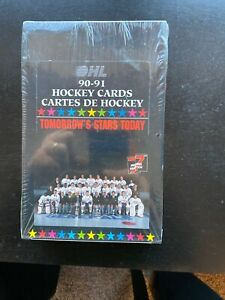 90-91-OHL-Hockey-Cards-Factory-Sealed-Box