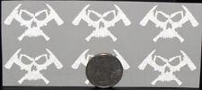 "2"" REFLECTIVE CUSTOM Decal Sticker for Fire Rescue EMS Helmets Firefighter Gear"