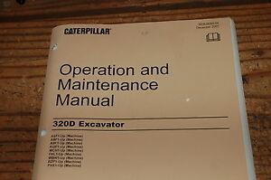 cat backhoe operation and maintenance manual