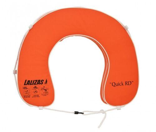 """Hufeisen Rettungsring /""""Quick RD/"""" 145N Orange Rettungsreifen Schwimmreifen 20309"""