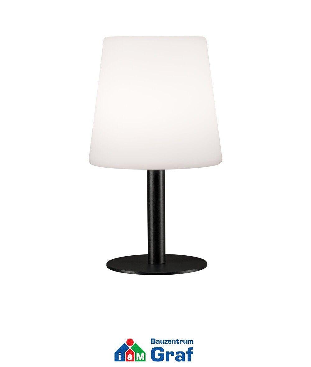 Paulmann LED Mobile lámpara de mesa placido ip44 regulable, batería  844298