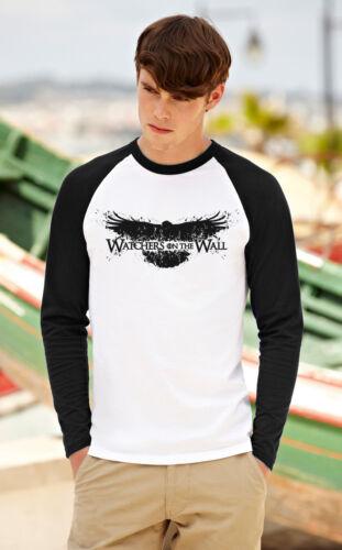 Game of Thrones Hommes Femmes T-shirt à manches longues wachers Unisexe Baseball Raglan Top