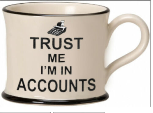 TRUST ME mug Moorland Pottery Trust me I/'m a Doctor Decorator Plumber Vet Mother