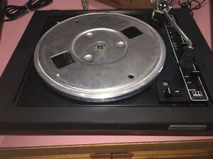 Vintage-BSR-Quanta-450-SX-Turntable-No-Dustcover-Autoglide-Spindle-working