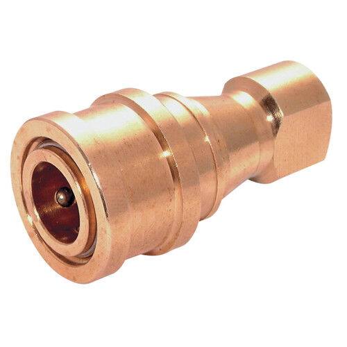 Brass ISO B couplage avec NITRILE joints BSPP ISO B Interchange Accouplements /& Bouchons