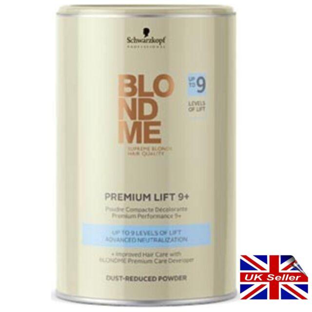 Blond Me Hair Bleach Blo Nd Me Dust Reduced Powder Bleach 450g BlondeMe 9 lifts